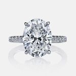 Francesca Solitaire Engagement Ring by Jean Dousset